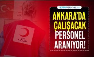 Türk Kızılayı KPSS şartsız Kalite Güvence Uzmanı alımı yapacak!