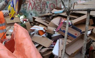 Ankara Büyükşehir Belediyesi kağıt toplayıcılığı yasakladı!