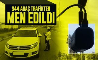 Araç sahipleri dikkat: EGM duyurdu! 344 araç trafikten men edildi