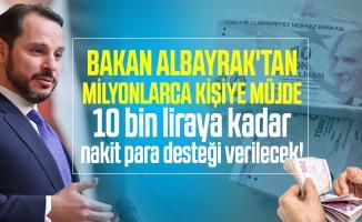 Bakan Albayrak'tan milyonlarca kişiye müjde: 10 bin liraya nakit para desteği verilecek! Temel İhtiyaç desteği nedir?