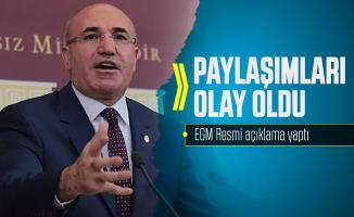 CHP'li Mahmut Tanal'ın paylaşımları olay oldu! EGM resmi açıklama yayımladı