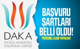 Doğu Anadolu Kalkınma Ajansı (DAKA) personel alımı yapacak! Başvuru şartları belli oldu