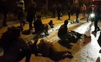 Fatih Cankurtaran'da trafik kazası! 1ölü 3 yaralı