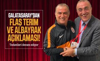 Galatasaray'dan flaş Terim ve Albayrak açıklaması! Tedavileri devam ediyor
