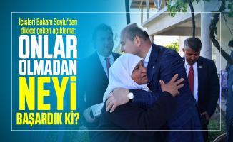İçişleri Bakanı Soylu'dan dikkat çeken 8 Mart Kadınlar Günü açıklaması: Onlar olmadan neyi başardık ki?