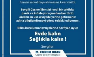 İzmir Çeşme'de Corona virüs hastası tespit edildi! Çeşme'de 45 aile karantinaya alındı