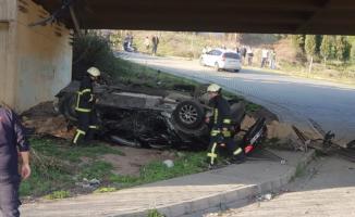 Kocaeli TEM Otoyolu'nda trafik kazası!