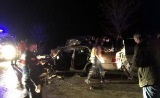 Konya'da feci kaza! 4 ölü 4 yaralı