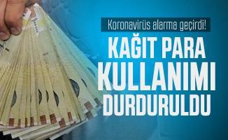 Koronavirüs alarma geçirdi! İran'da kağıt para kullanımı durduruldu