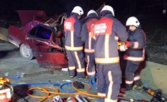 Malatya Elazığ yolunda ölümlü trafik kazası! Tır ile otomobil çarpıştı