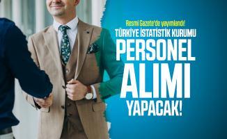Resmi Gazete'de yayımlandı! Türkiye İstatistik Kurumu Başkanlığı personel alımı yapacak!