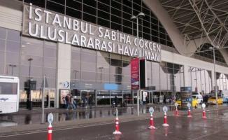 Sabiha Gökçen havalimanında uçuşlar durduruldu!