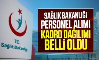 Sağlık Bakanı Fahrettin Koca sağlık bakanlığı personel alımı kadro dağılımını açıkladı 11 bin Hemşire,  bin 600'ü Ebe ve 4 bin 687'si Sağlık Teknisyeni ve Sağlık Teknikeri alımı olacak!