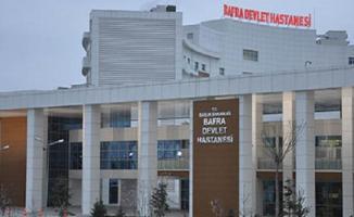 Samsun Bafra Devlet Hastanesi'nde kavga!