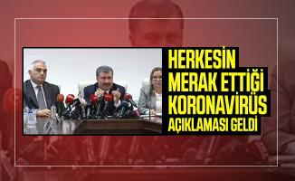 Son dakika Koronavirüs hakkında Sağlık, Külltür ve Turizm ile Ticaret Bakanlığı'ndan açıklama geldi!