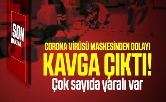 Son dakika İstanbul'da corona virüsü maskesinden dolayı kavga çıktı! Çok sayıda yaralı var