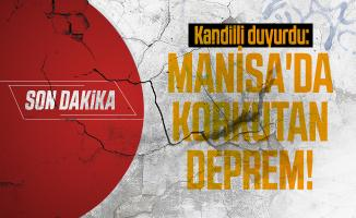 Son dakika Kandilli duyurdu: Manisa'da korkutan deprem!