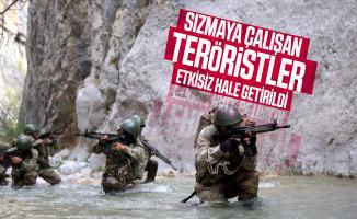 Son dakika MSB açıkladı: Sızmaya çalışan teröristler etkisiz hale getirildi!