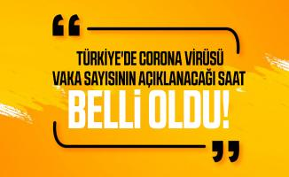 Son dakika Türkiye'de corona virüsü vaka sayısının açıklanacağı saat belli oldu!