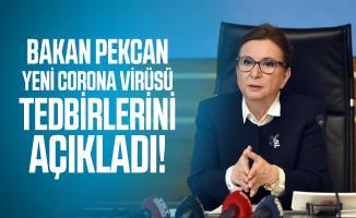 Ticaret Bakanı Pekcan yeni corona virüsü tedbirlerini açıkladı!
