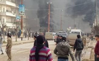 Afrin'de bomba yüklü tankerle hain saldırı! Ölü sayısı 35'e yükseldi!