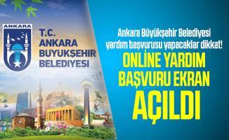 Ankara Büyükşehir Belediyesi yardım başvurusu yapacaklar dikkat! Online yardım başvuru ekranı açıldı