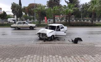 Antalya'da  D400 Karayolu üzerinde trafik kazası!