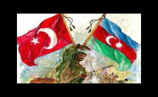 Azerbaycan'a Tek Millet, Tek Yürek Mesajı...