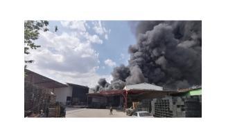 Bursa'da korkutan yangın! Söndürme çalışmaları devam ediyor