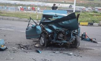 Çanakkale İzmir kara yolunda feci trafik kazası! 1 ölü
