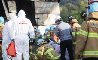 Güney Kore'de bir inşaatta çıkan yangın 38 işçinin ölümüne 10 işçinin yaralanmasına neden oldu!