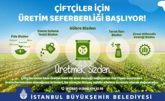 İBB Başkanı İmamoğlu çiftçiler için üretim seferberliği başlattıklarını duyurdu!