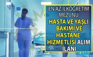 İŞKUR online başvuru ile 12 şehirde hastane personeli alımı yapılacak!
