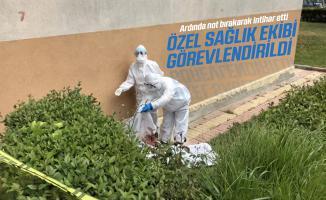 İstanbul'da koronavirüs şüphelisi adam arkasında not bırakarak intihar etti!