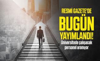 Medeniyet Üniversitesi sözleşmeli personel alımı yapacak!