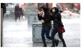 Meteoroloji'den kar, sağanak yağış ve fırtına uyarısı! Bu gece şiddetli gelecek!