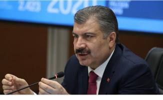 Sağlık Bakanı Fahrettin Koca: Yoğun Bakım Hasta Sayımız İlk Defa Azaldı
