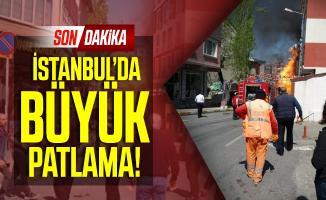 Son dakika İstanbul'da büyük patlama! Çok sayıda ambulans ve güvenlik ekibi sevk edildi