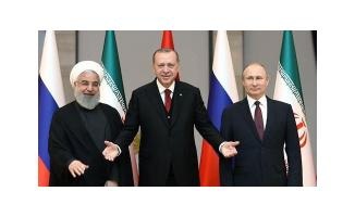 Türkiye, Rusya ve İran Arasında Üçlü Görüşme