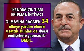 Türkiye 34 ülkeye tıbbi malzeme yardımı gönderdi!