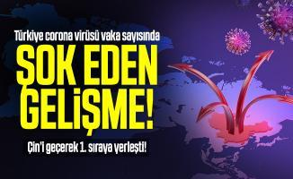 Türkiye corona virüsü vaka sayısında şok eden gelişme! Çin'i geçerek 1. sıraya yerleşti! 20 Nisan korona virüs vaka sayısı ne kadar?