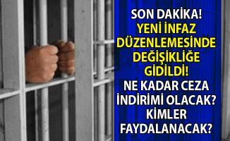 Yeni infaz düzenlemesi ile kimlere af ya da ceza indirimi geliyor!