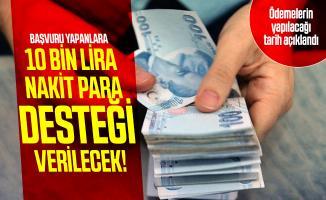 10 bin lira nakit para desteği için başvurular devam ediyor! Temel ihtiyaç desteği başvurusu nasıl yapılır?