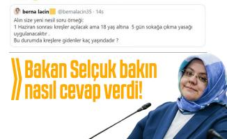 Bakan Selçuk Berna Laçin'in kreş sorusuna cevap verdi!