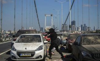 Bu fotoğraflar bugün 15 Temmuz Şehitler Köprüsü'nde çekildi!