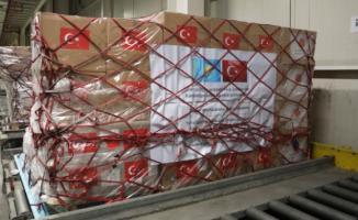 Cumhurbaşkanı Erdoğan'ın talimatlarıyla bir ülkeye daha sağlık malzemesi gönderildi!