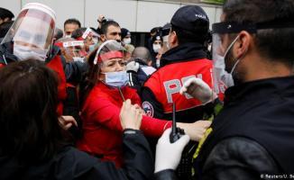 DİSK Genel Başkanı Arzu Çerkezoğlu gözaltına alındı!