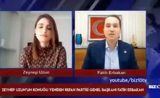 Fatih Erbakan'ın o skandal sözlerine partisinden destek geldi!
