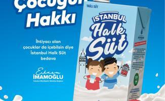İBB 115 bin çocuğa halk süt dağıtırken İstanbullu çiftçilere de kazandırıyor!