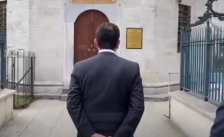 İBB Başkanı İmamoğlu'nun türbe ziyareti olay oldu!